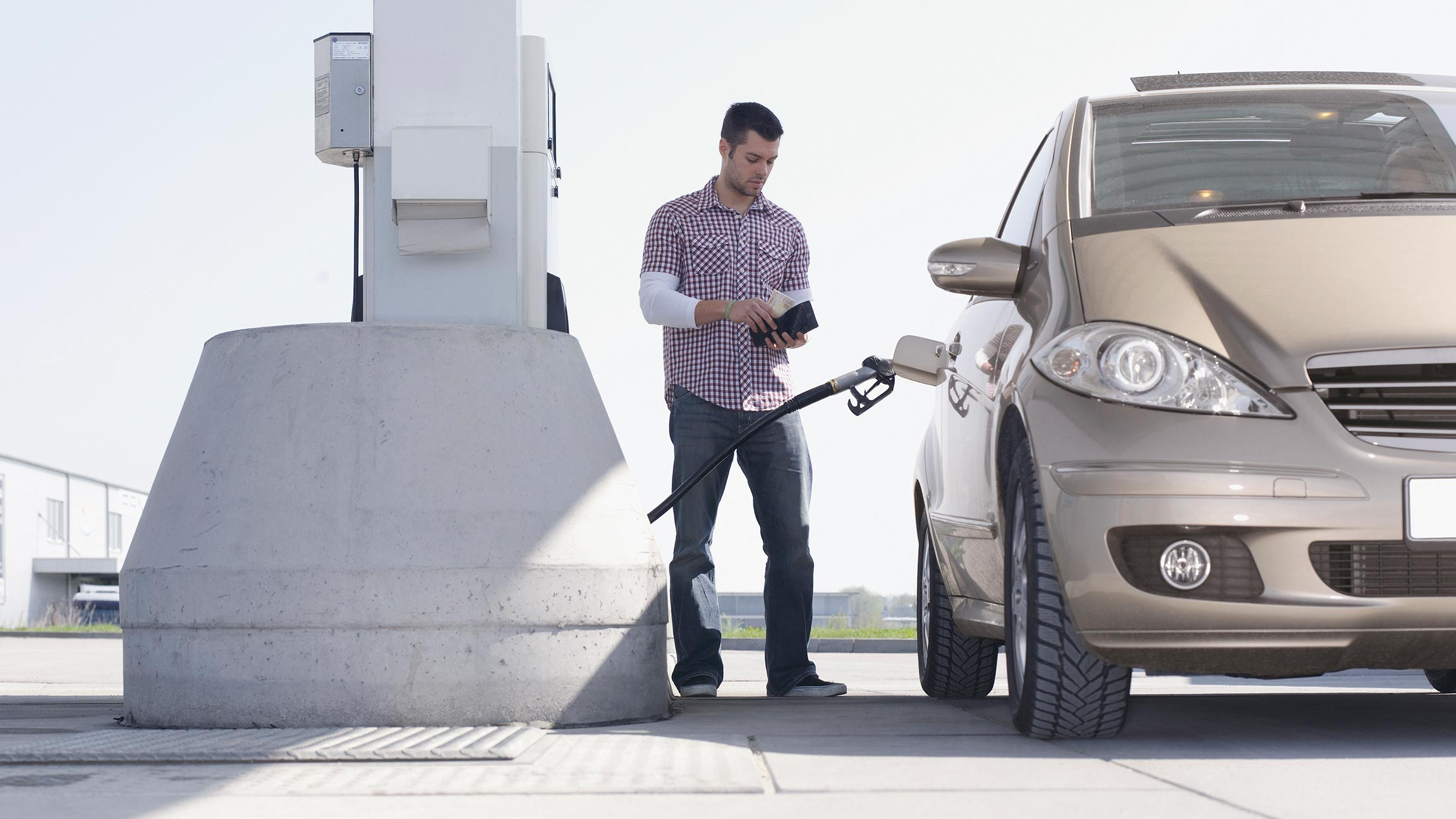High petrol prices are changing consumer spending habits