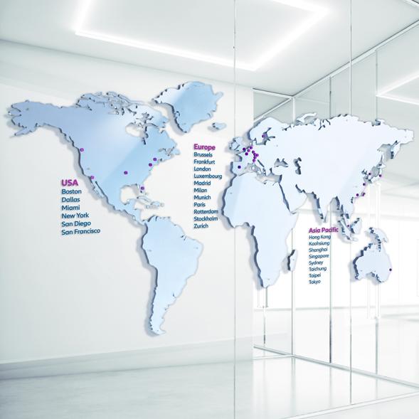 Mapa global